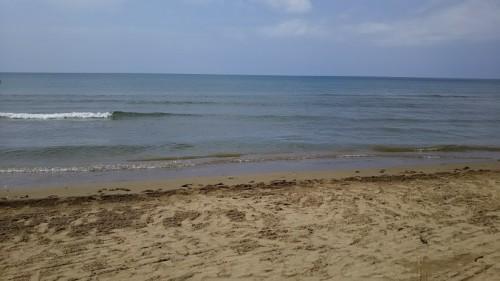 DSC 0615 500x281 千里浜なぎさドライブウェイ!日本で唯一車で走れる海岸&気多大社