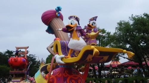 DSC 5480 500x281 35周年パレード【画像あり】ドリーミングアップとアラジンの謎(笑)
