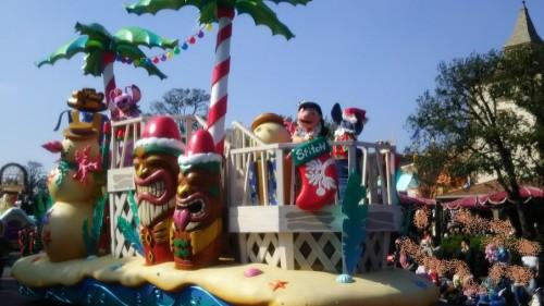 DSC 7322 500x281 ディズニークリスマス初日にパレードを見ました!待ち時間など