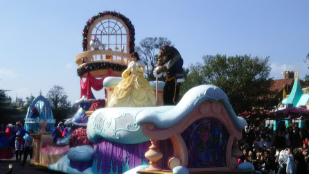 DSC 7327 ディズニークリスマス初日にパレードを見ました!待ち時間など